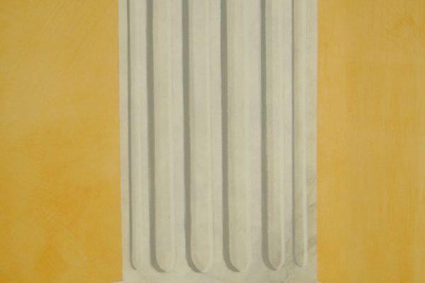 dekorative Säulenimitation