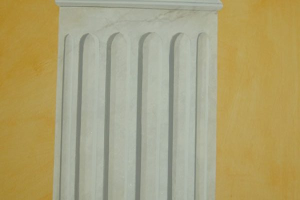 dekorative Säulenimitation, Marmor